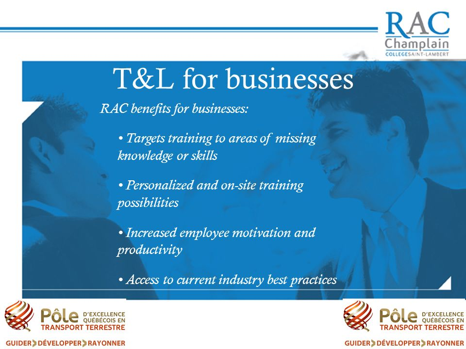 T&L for businesses