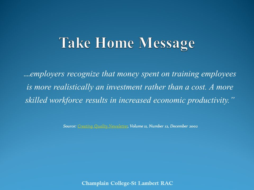 Champlain College-St Lambert RAC