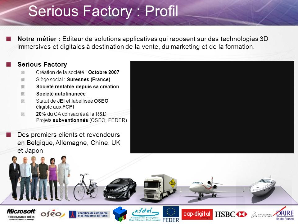 Serious Factory : Profil