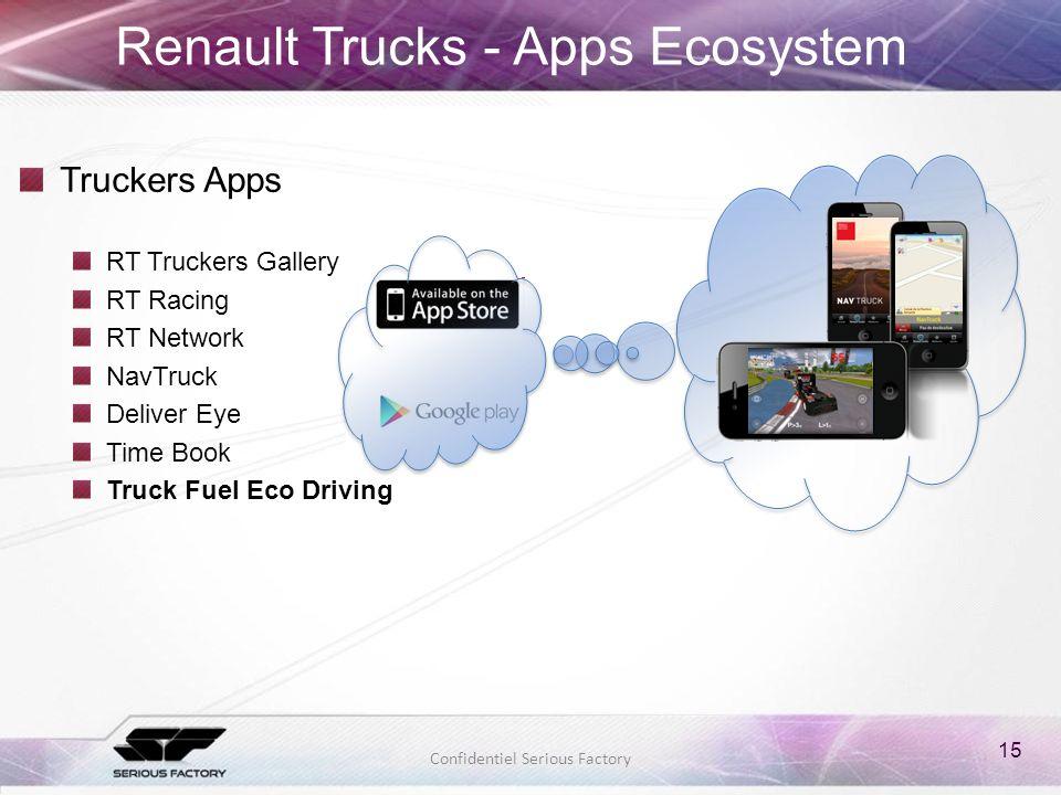 Renault Trucks - Apps Ecosystem