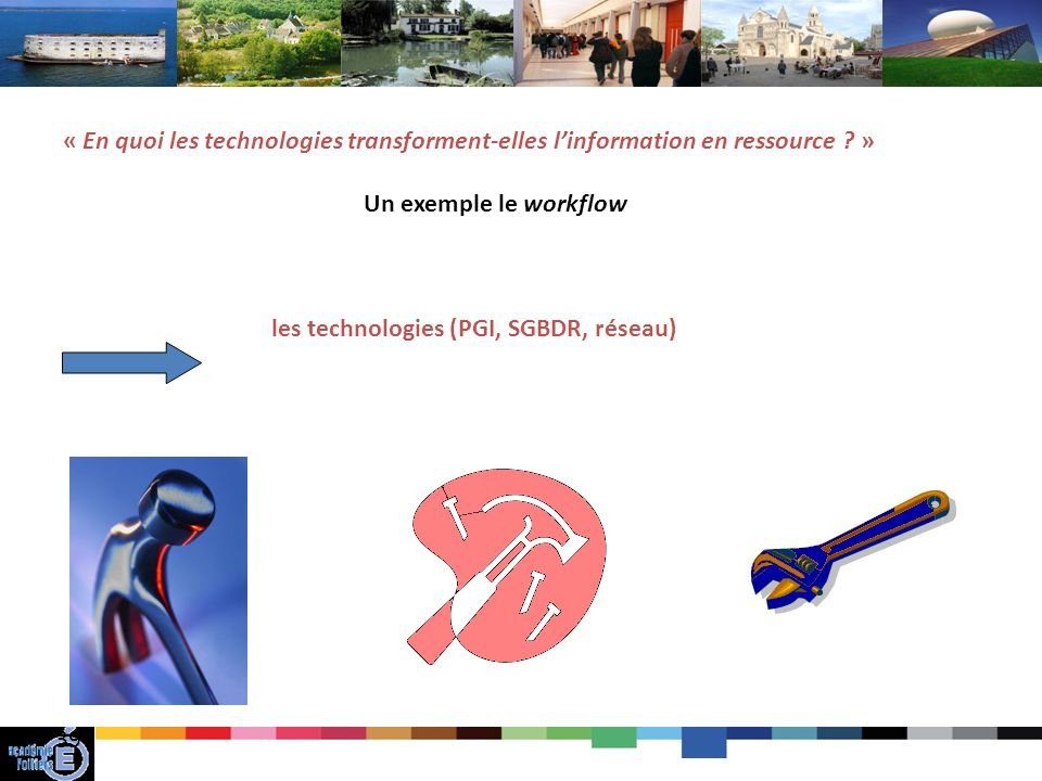 les technologies (PGI, SGBDR, réseau)