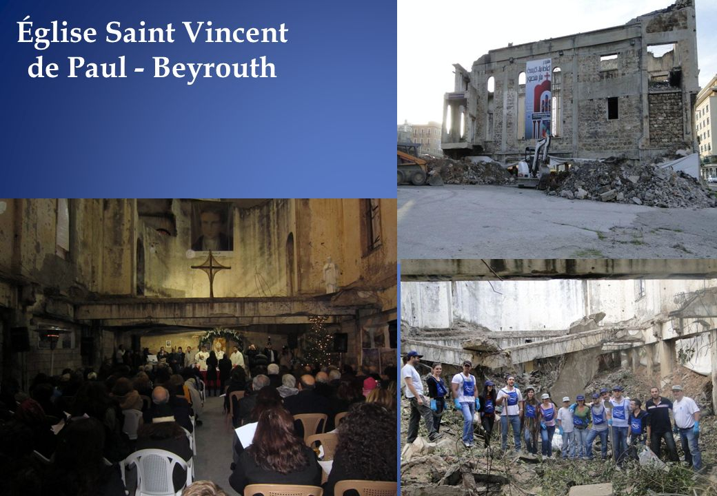 Église Saint Vincent de Paul - Beyrouth