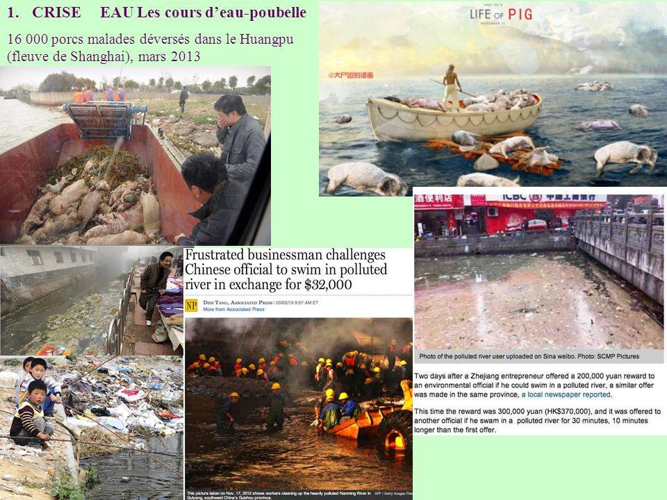 CRISE EAU Les cours d'eau-poubelle