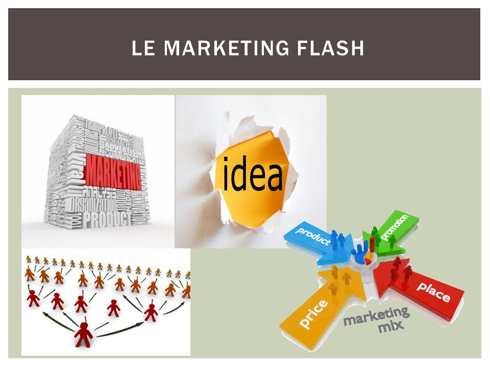 le marketing flash