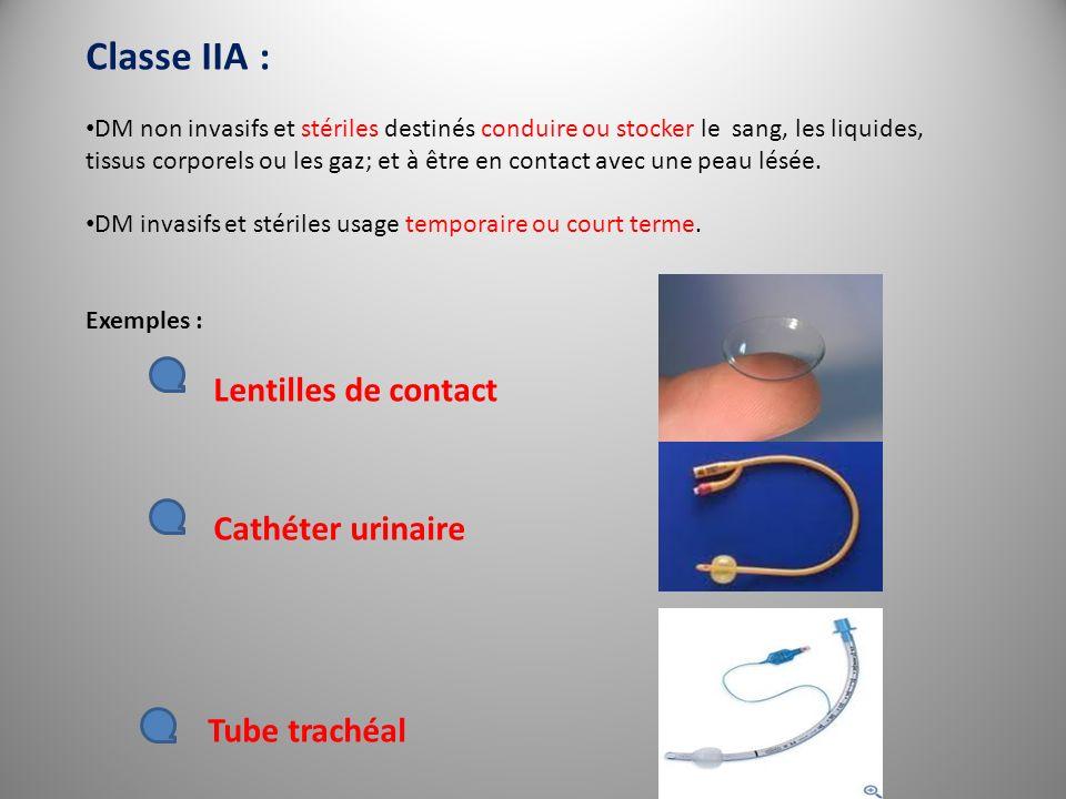 Classe IIA :