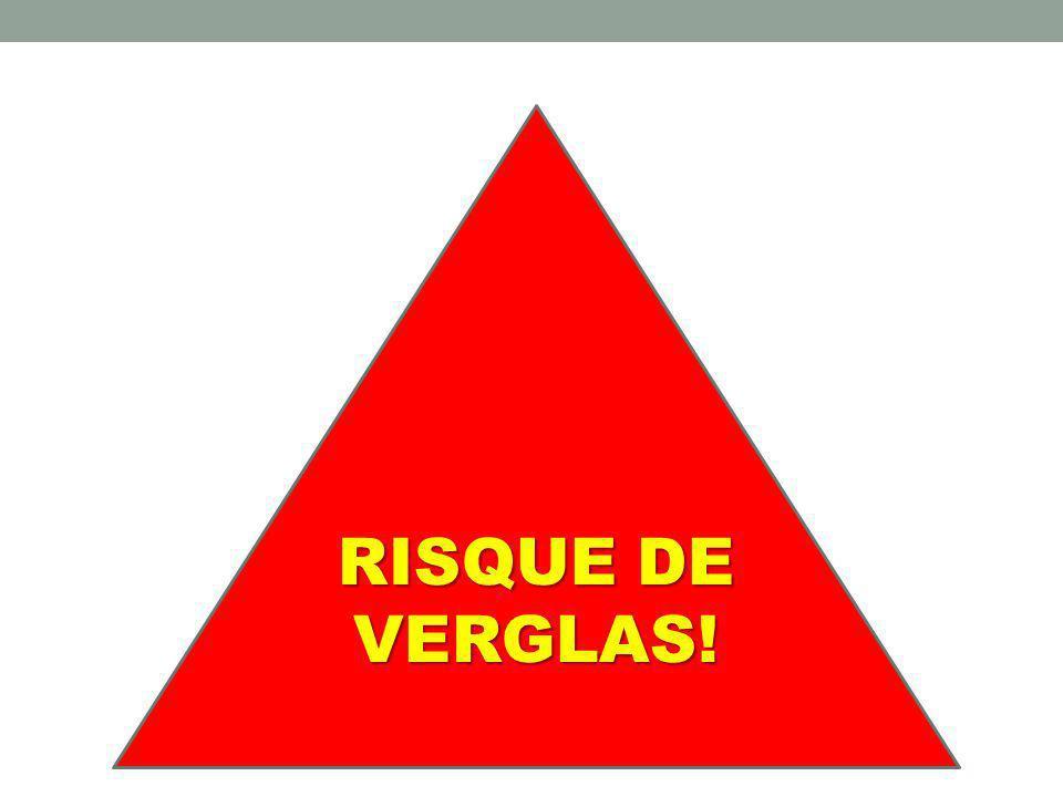 RISQUE DE VERGLAS!