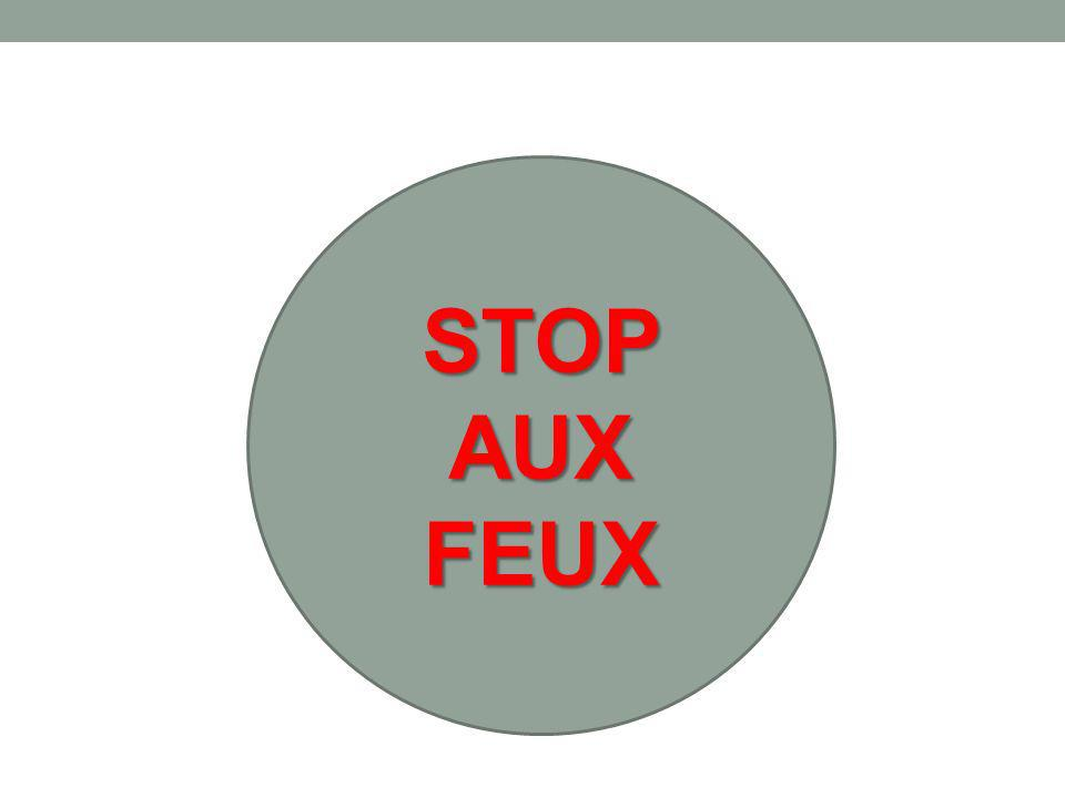 STOP AUX FEUX