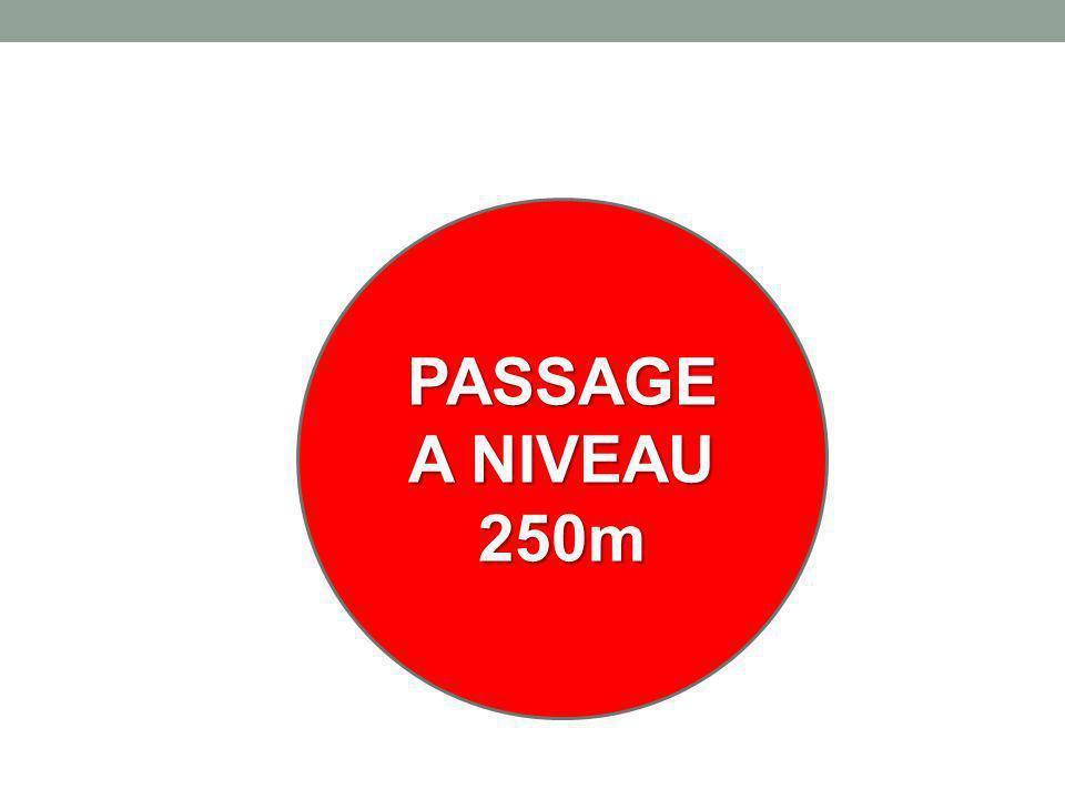 PASSAGE A NIVEAU 250m