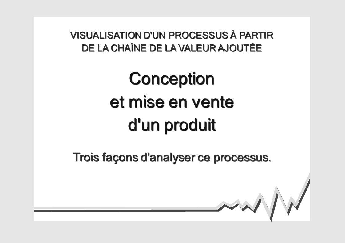 Trois façons d analyser ce processus.