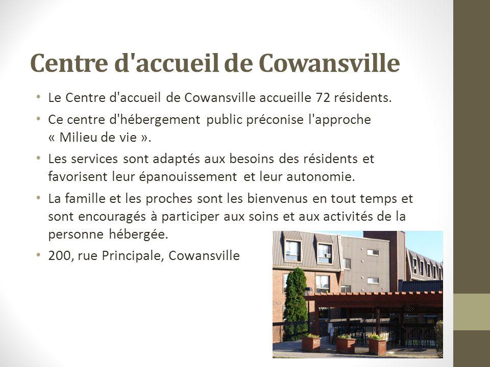 Centre d accueil de Cowansville
