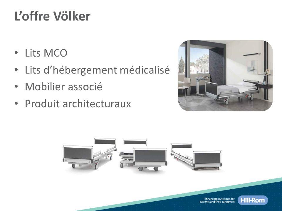 L'offre Völker Lits MCO Lits d'hébergement médicalisé Mobilier associé