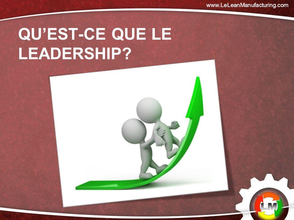 Qu'est-ce que le leadership
