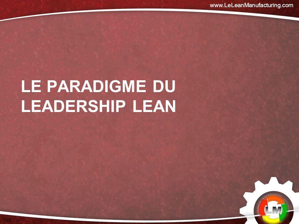Le paradigme du leadership lean