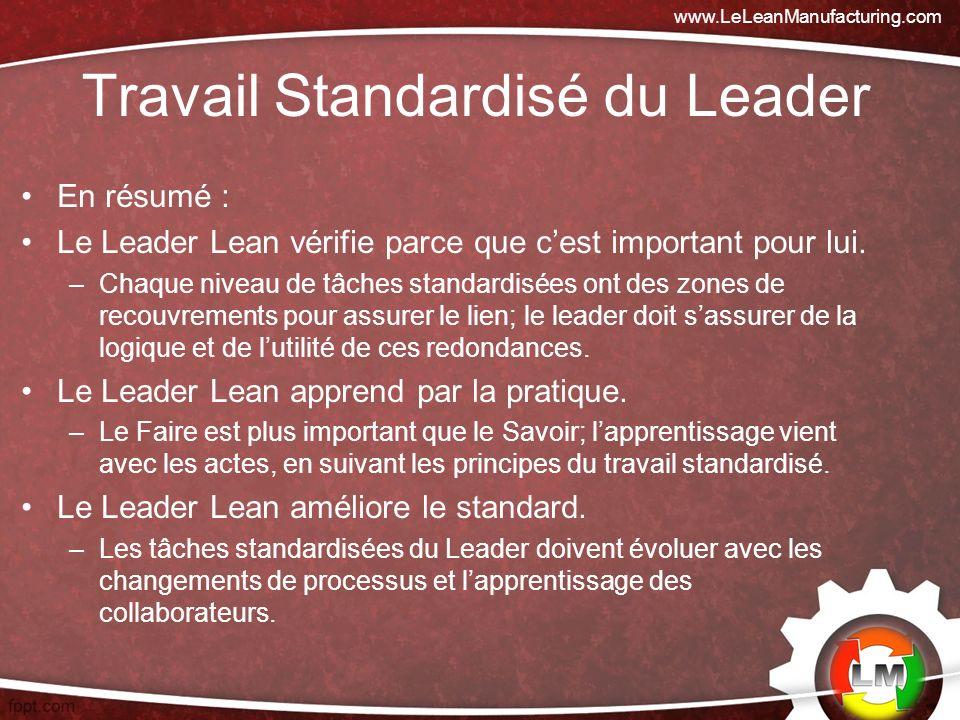 Travail Standardisé du Leader