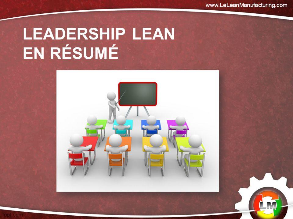 Leadership lean en résumé