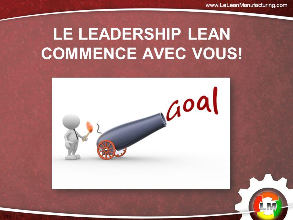 Le Leadership lean commence avec vous!