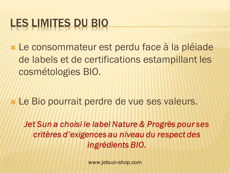 Les limites du bio Le consommateur est perdu face à la pléiade de labels et de certifications estampillant les cosmétologies BIO.
