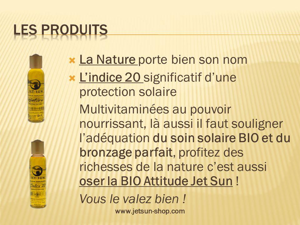 Les Produits La Nature porte bien son nom