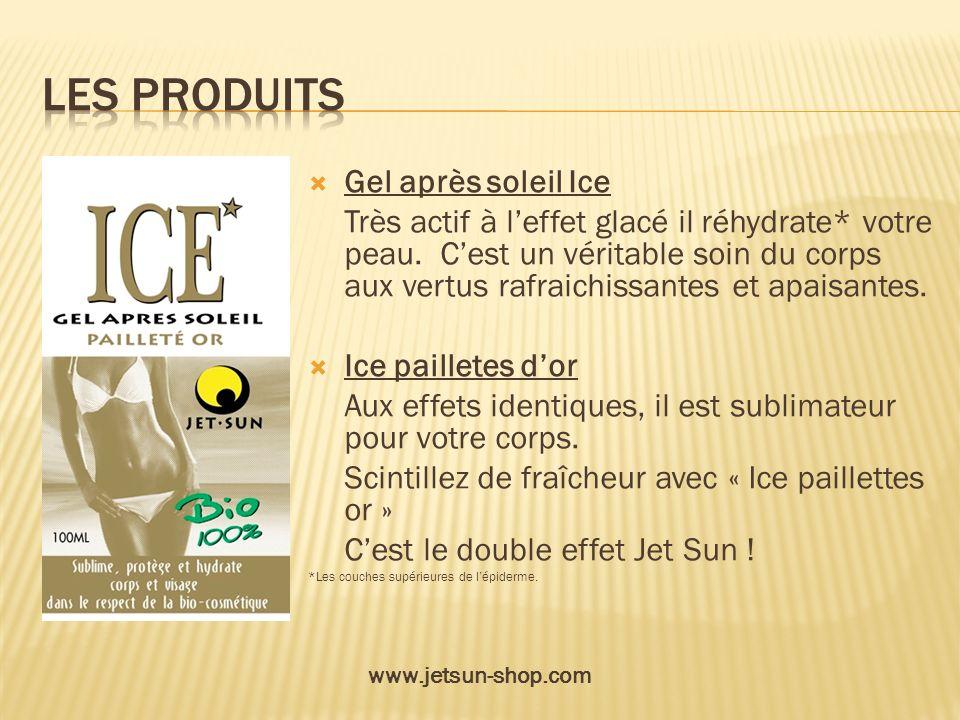 Les produits Gel après soleil Ice