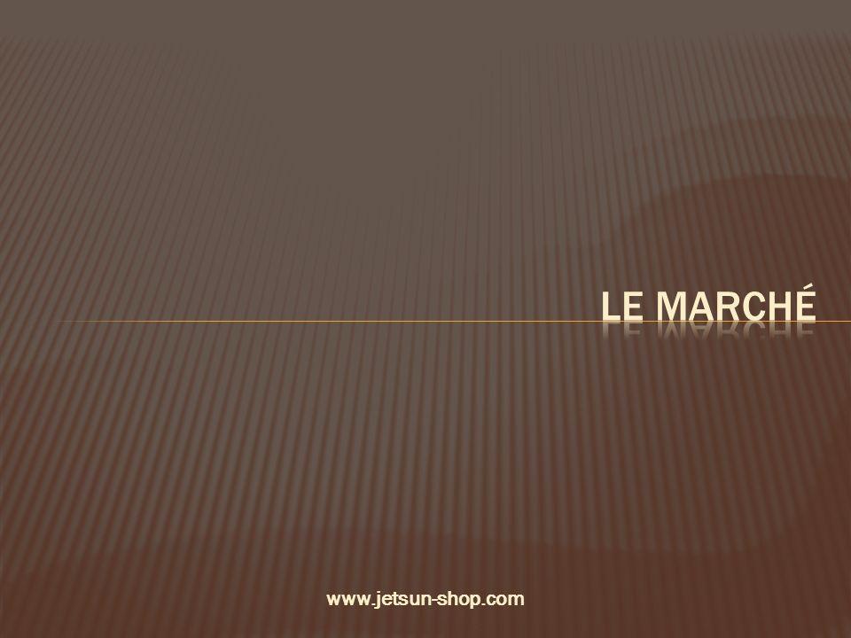 Le marché www.jetsun-shop.com