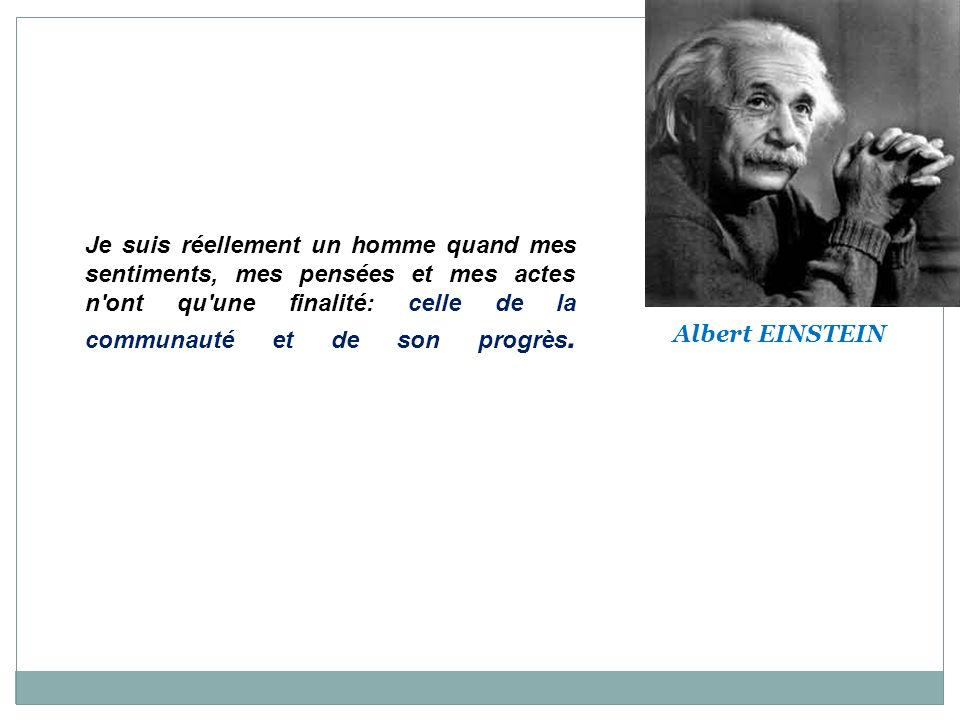 Citations d Albert EINSTEIN