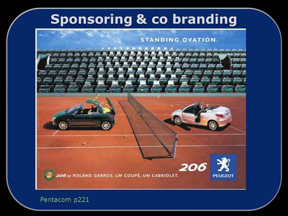Sponsoring & co branding