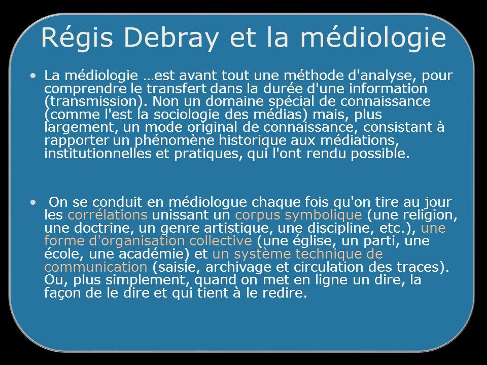 Régis Debray et la médiologie