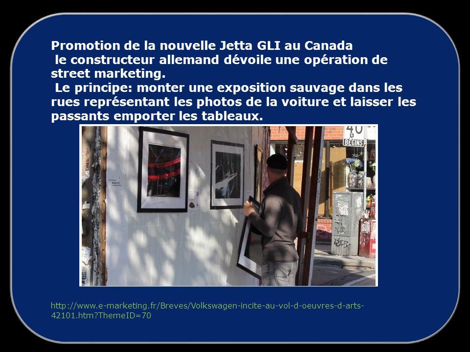 Promotion de la nouvelle Jetta GLI au Canada