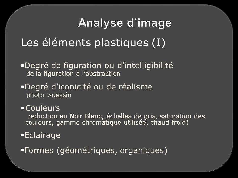 Les éléments plastiques (I)