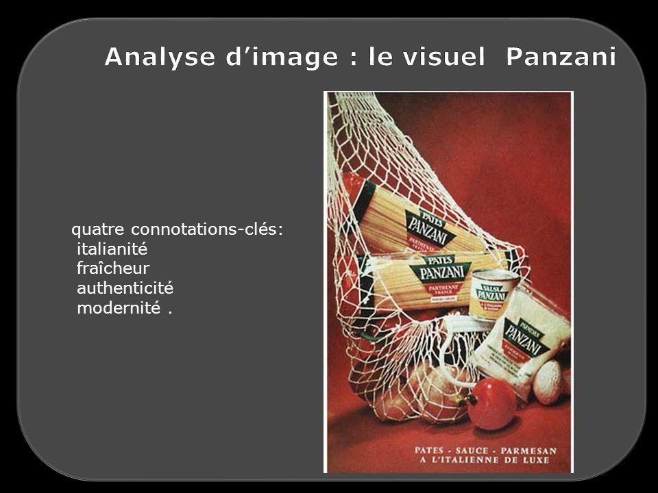 Analyse d'image : le visuel Panzani