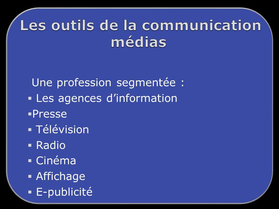 Les outils de la communication médias