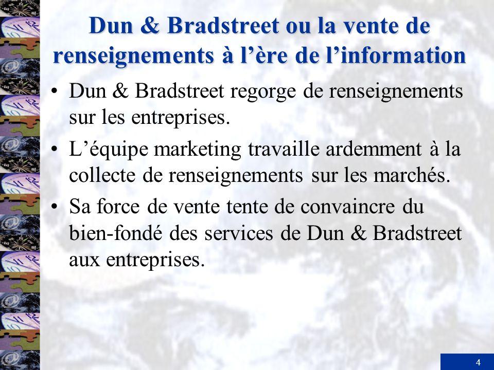 Dun & Bradstreet ou la vente de renseignements à l'ère de l'information