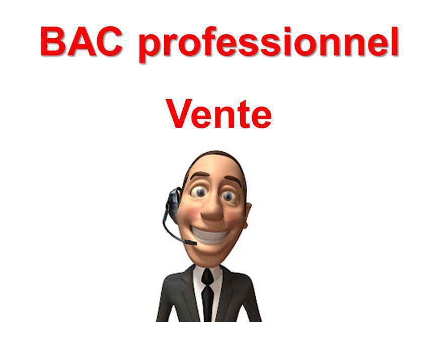 BAC professionnel Vente