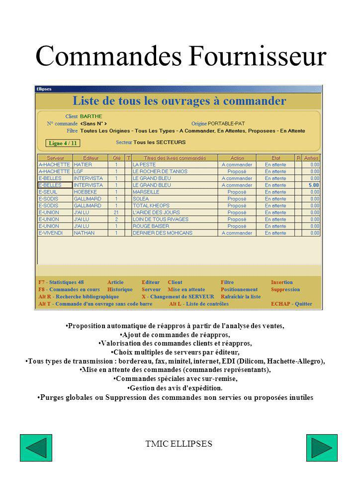 Commandes Fournisseur