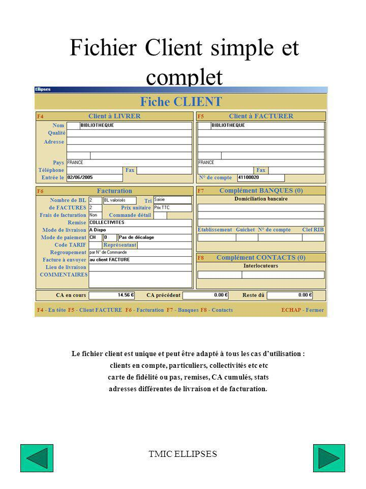Fichier Client simple et complet
