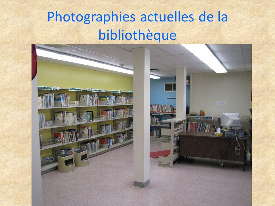 Photographies actuelles de la bibliothèque