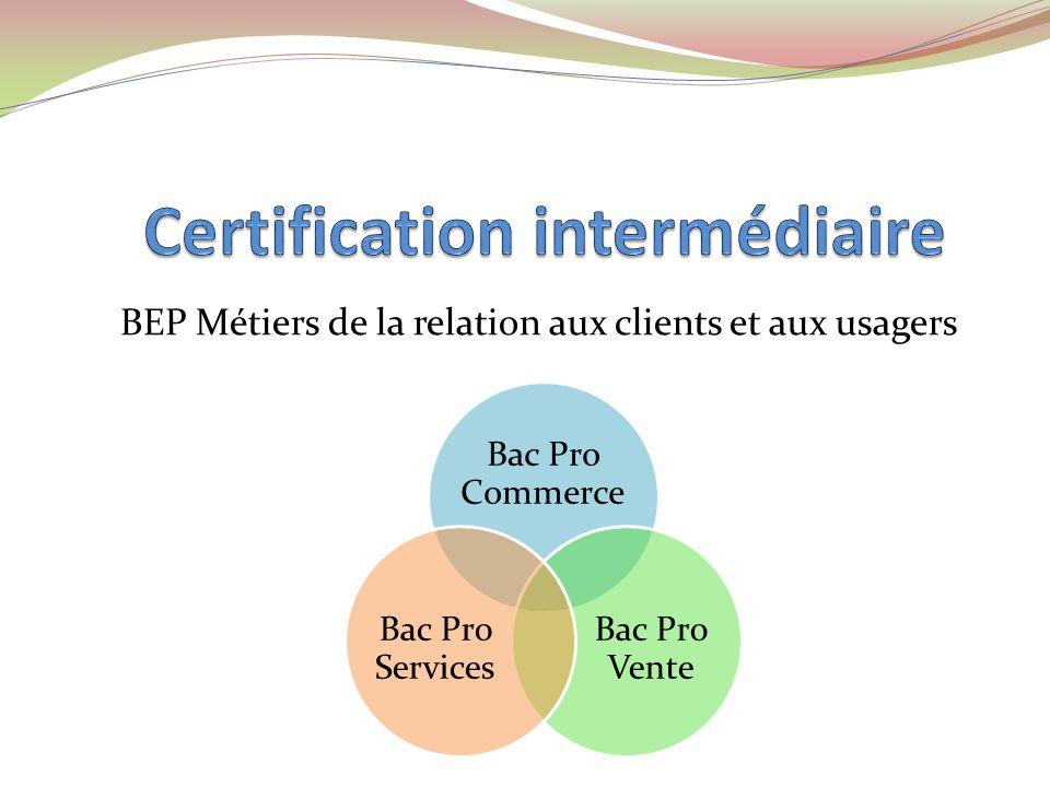 Certification intermédiaire