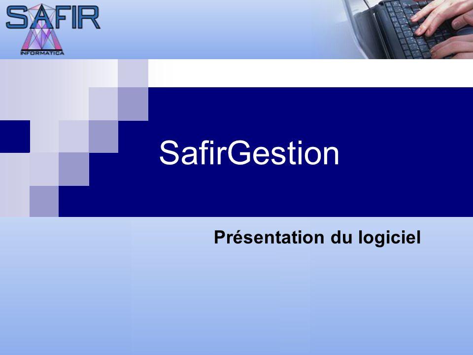 SafirGestion Prezentare aplicatie Prezentare aplicatie