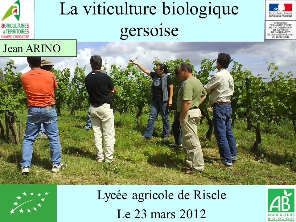 La viticulture biologique gersoise
