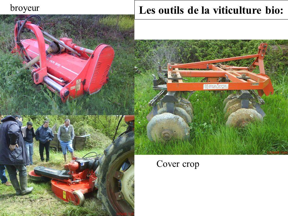 Les outils de la viticulture bio:
