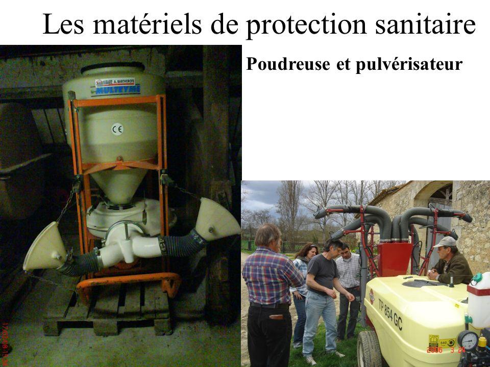 Les matériels de protection sanitaire