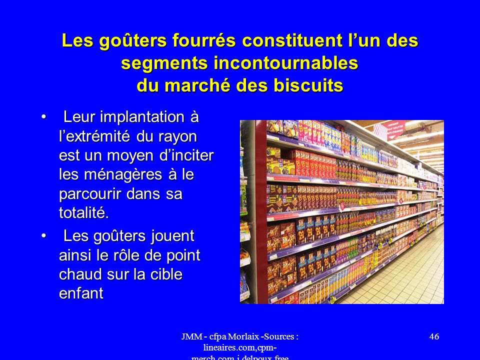 Les goûters fourrés constituent l'un des segments incontournables du marché des biscuits