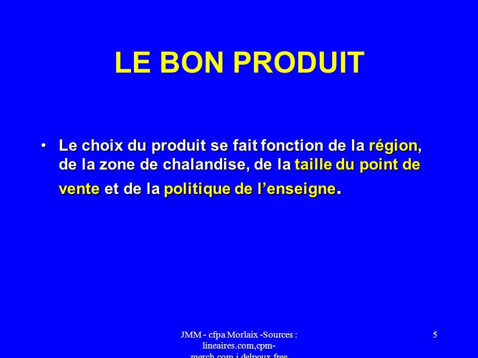 LE BON PRODUIT