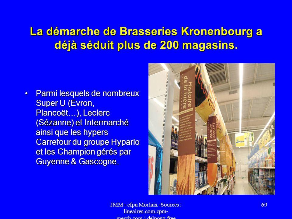 La démarche de Brasseries Kronenbourg a déjà séduit plus de 200 magasins.