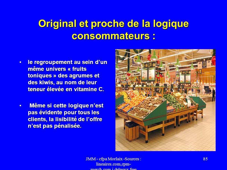 Original et proche de la logique consommateurs :