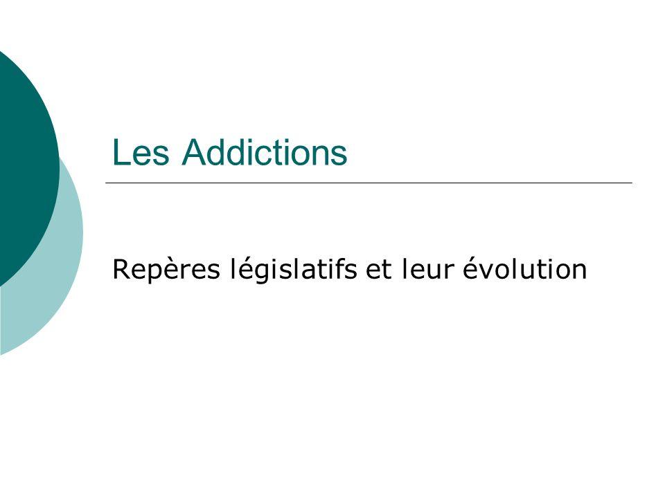 Repères législatifs et leur évolution
