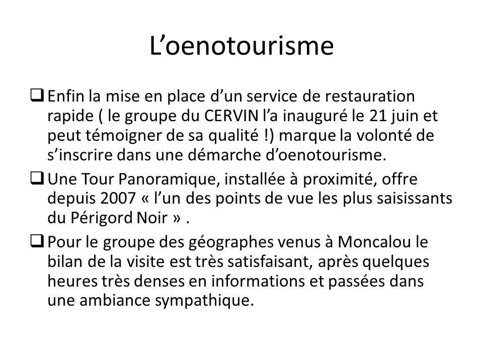 L'oenotourisme