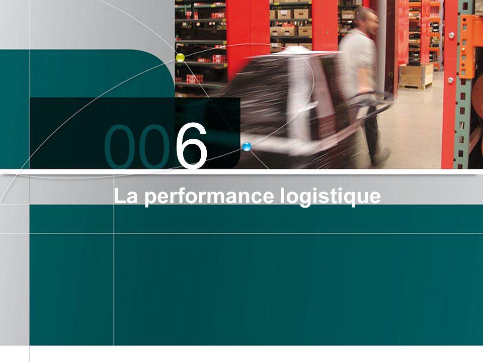 6 La performance logistique