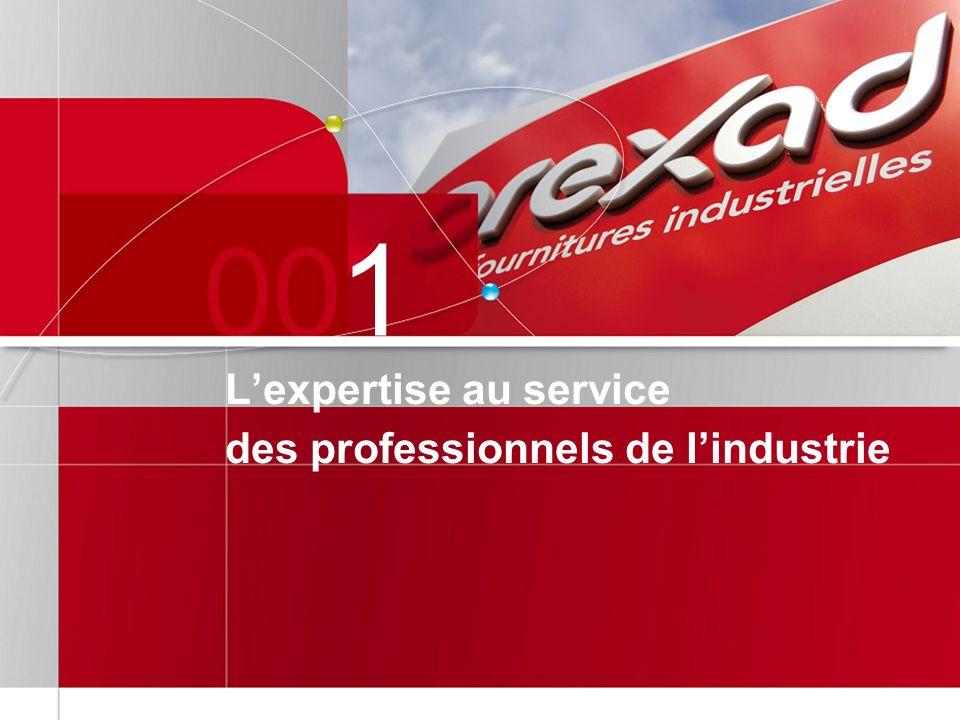 1 L'expertise au service des professionnels de l'industrie