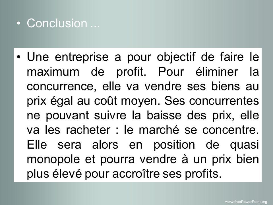 Conclusion ...